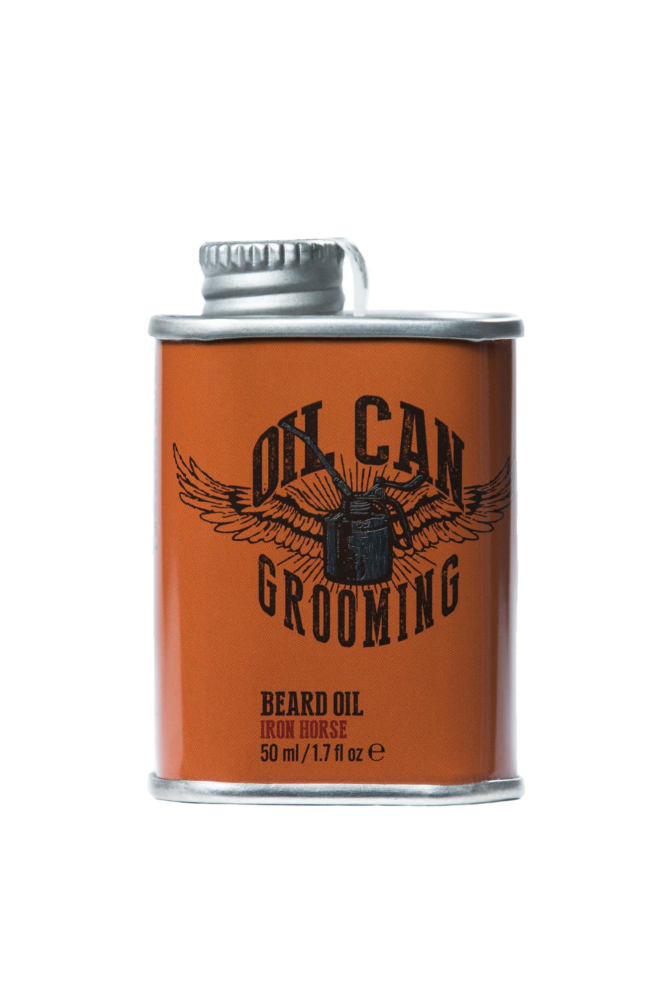 Масло для бороды Oil Can Grooming Iron Horse